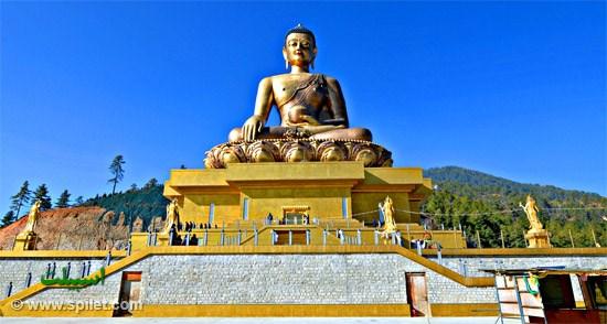 مجسمه دورنما در بوتان