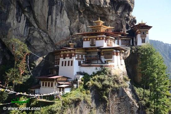 معبد آشیانه ببربوتان