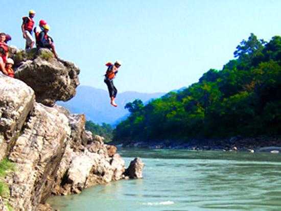 رفتینگ رودخانه هیمالیا