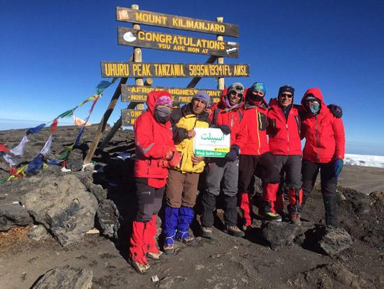 تور صعود قله کلیمانجارو