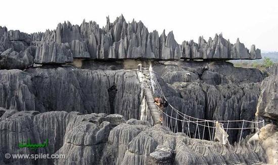 پل تزینجی در ماداگاسکار