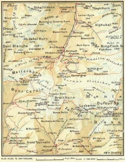 نقشه مونت روزا