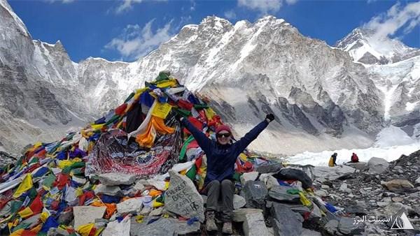 صعود قله اورست در نپال