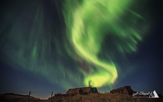 شفق قطبی در آسمان شمالگان