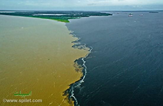 مرز رودخانه های رنگارنگ