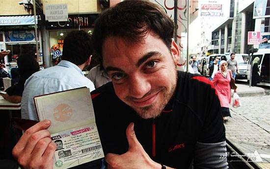 اخذ ویزای ایرن برای مهمانان خارجی