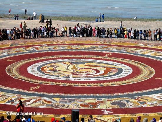 تور قشم -بزرگترین فرش خاکی جهان