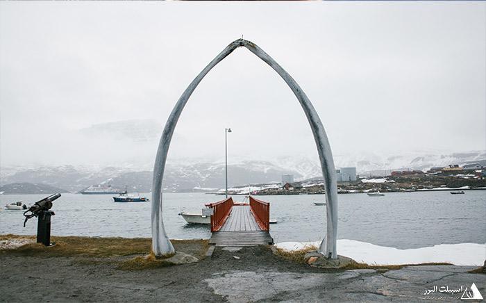 سردر ورودی دهکده های گرینلند