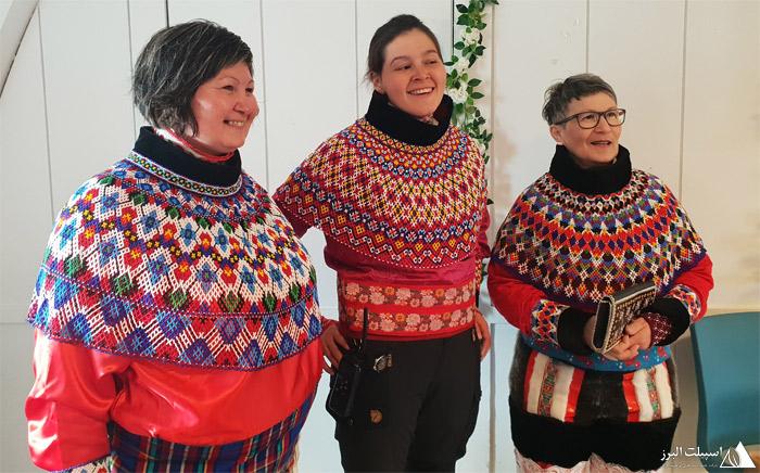 لباس سنتی اینوئیت ها،مردم گرینلند