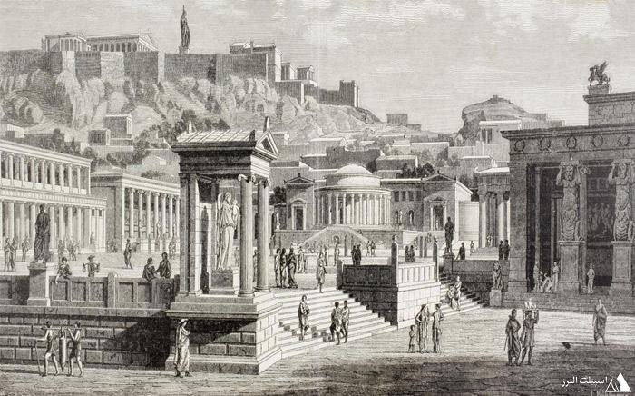 یونان باستان شهر آتن