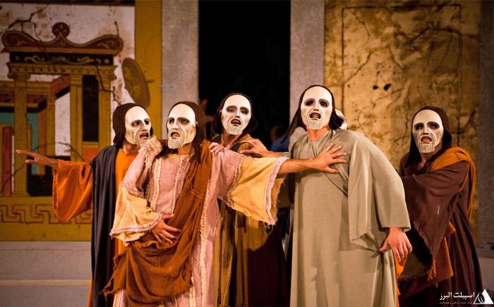 هنر تئاتر در شهر آتن