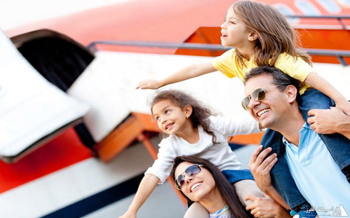 مسافرت به همراه کودکان
