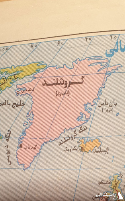 نقشه قطب شمال
