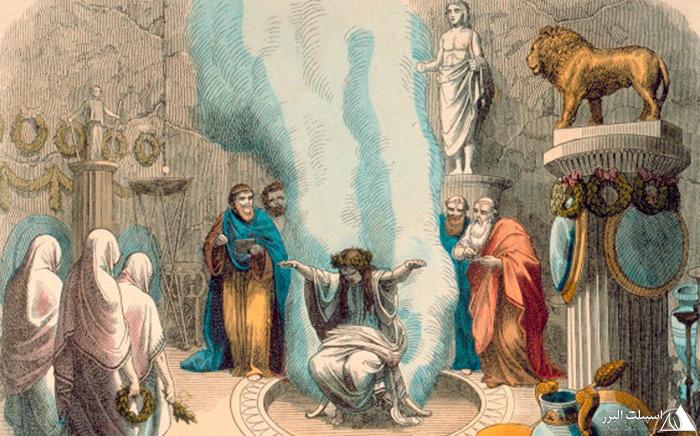 پیشگویی در معبد دلفی