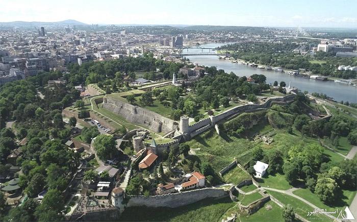 عکس هوایی بلگراد
