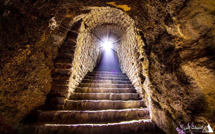 مخفیگاه زیرزمینی در شهر بلگراد
