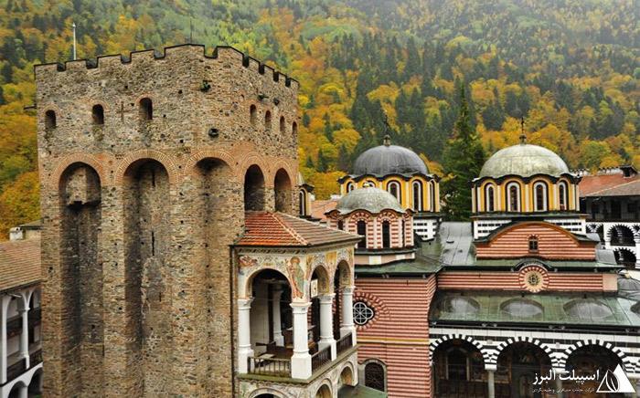 صومعه ریلا در بلغارستان