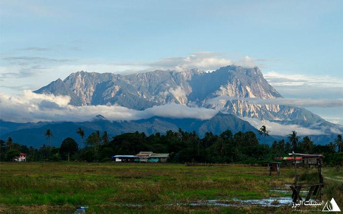 کوه کینابالو مالزی