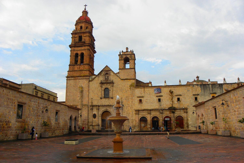 یک کلیسای آگوستینی در مکزیک