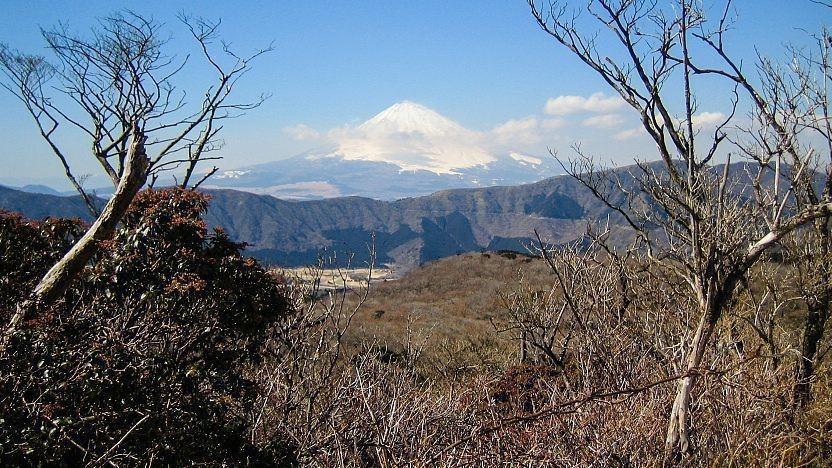 چشمانداز کوه فوجی از اوواکودانی