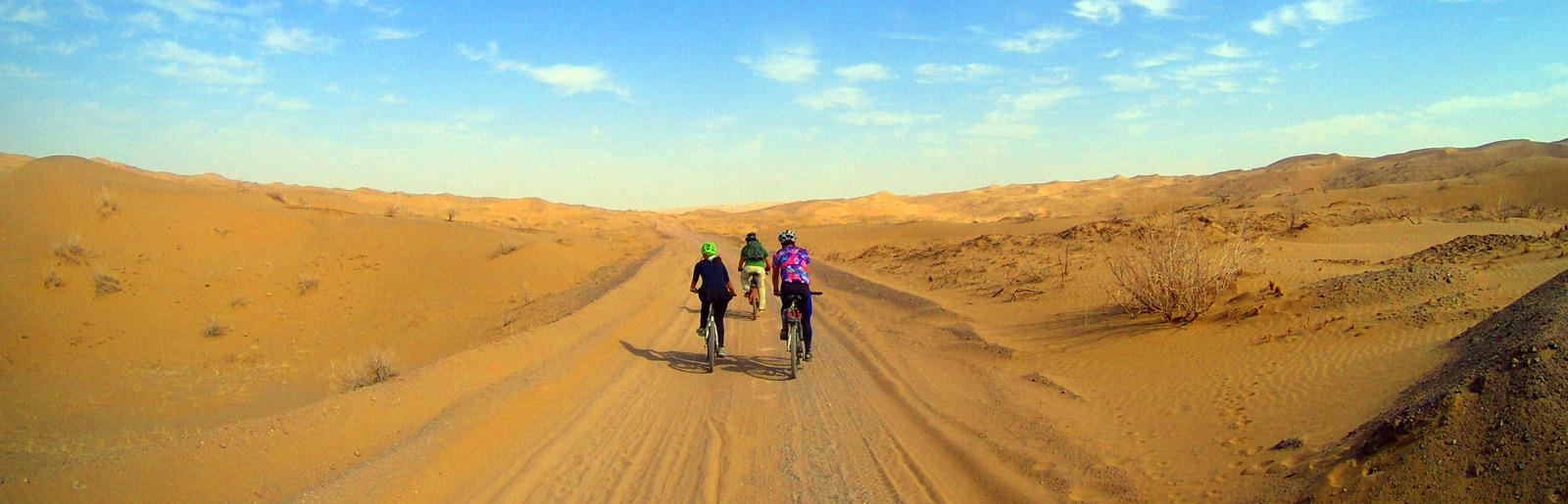 Maranjab desert Biking Tour