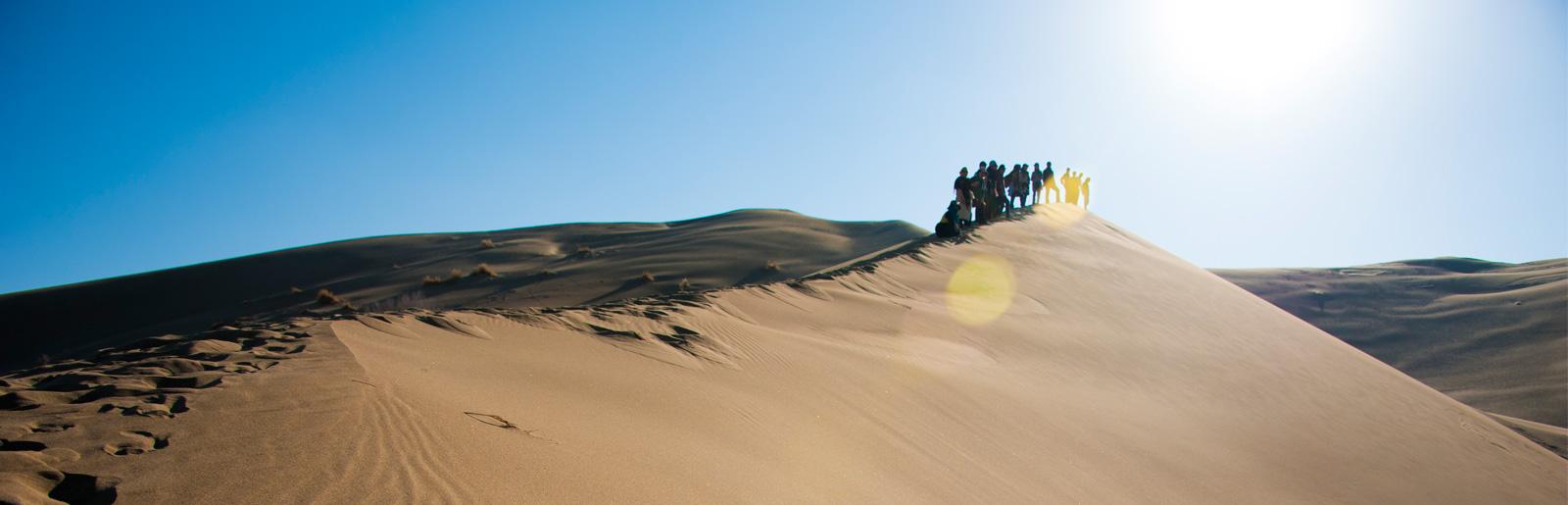 Desert Trekking in Dasht-e Kavir (Central Desert of Iran) and Lut Desert